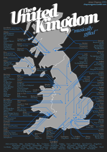 UK music map