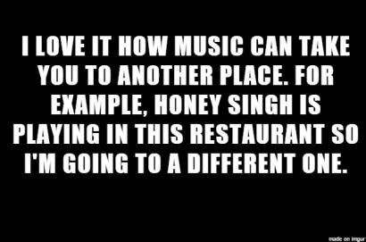 music can take you