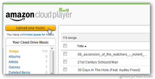 cloud player