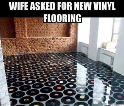 vinyl-floot
