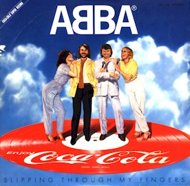 This image has an empty alt attribute; its file name is coke-abba-single.jpg